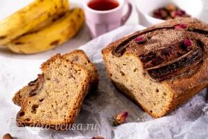 Простой банановый хлеб готов