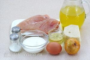 Фрикадельки из курицы по-строгановски: Ингредиенты