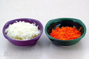 Салат из черной редьки «Зимняя свежесть»: Трем морковь и черную редьку