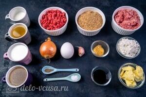 Шведские фрикадельки как в IKEA: Ингредиенты