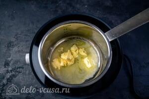 Шведские фрикадельки как в ИКЕА: Соединяем в сотейнике сливочное и растительное масло