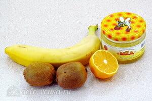 Смузи из банана и киви без молока «Витамин С»: Ингредиенты