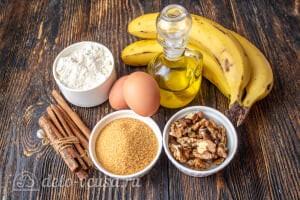 Банановый хлеб с грецкими орехами: Ингредиенты