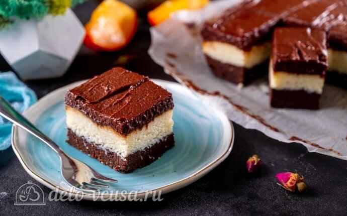 Кокосово-шоколадный десерт королевы Анны