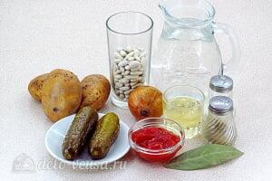 Постный рассольник по-кубански: Ингредиенты