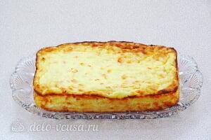 Творожно-рисовая запеканка с морковью: Даем запеканке остыть