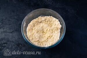 Кулич Краффин пасхальный6 Готовим песочную крошку