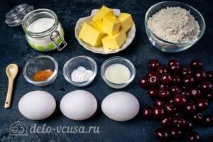 Кексы с вишней: Ингредиенты