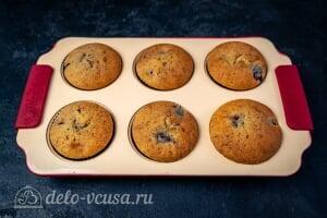 Кексы с вишней: Выпекаем вишневые кексы до готовности в духовке